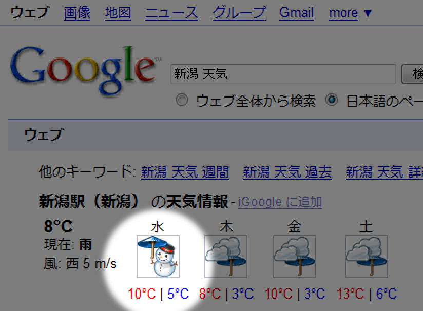 新潟 今日 の 天気